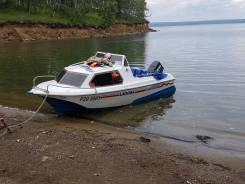 Лодка Ладога 2 с телегой!