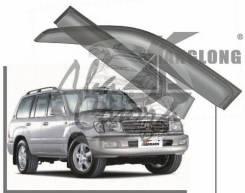 Ветровики - дефлекторы окон Toyota LAND Cruiser 100 1998-2007