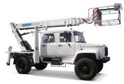 Автогидроподъемник ВИПО-24-01 на шасси ГАЗ-33086 (4х4) 5м. кабина, 2019