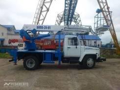 Автогидроподъемник ВИПО-24-01 на шасси ГАЗ-3309 (4х2) 5м. кабина, 2019