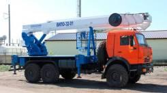 Автогидроподъемник ВИПО-36-01 шасси КАМАЗ-43118 (6х6), 2017