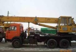 Услуги - автокран Ивановец , 25 тн., стрела - 22 м.