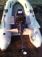 Лодку ПВХ 270 с мотором 6 лс.