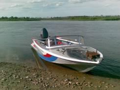 """Продам лодку Обь -1 """"Шило"""" с подвесным мотором  Yamaha-20"""