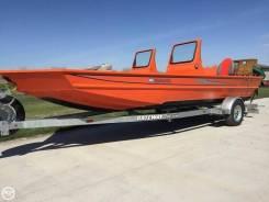 Водометный катер SJX 2170 для мелководья!