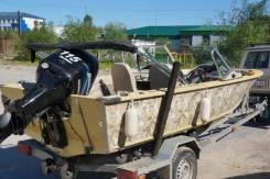 Продам алюминиевый катер Smokercraft Stinger 17DC 2005 г. в. с мотором