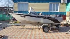 Продаётся алюминиевый катер Berkut M-DC 2013 года