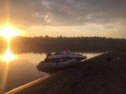 Продаю комплект: Лодка ПВХ Silverado360S и Лодочный мотор Tohatsu18