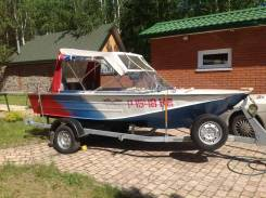 Продам лодку Днепр с мотором Tohatsu 30