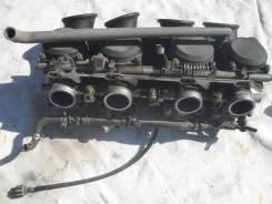 Карбюраторы на Kawasaki ZZR400 (2я модель) в разбор