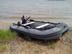 Продам лодку ПВХ и мотор Golfstream