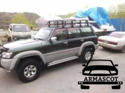 Багажник на крышу 2 метра (железный, установка на 8 точек) Распродажа