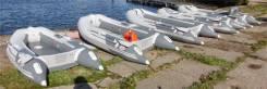 Продам ПВХ лодку Badger  с жестким полом и надувным килем