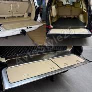 Накладки в багажник Land Cruiser 200, сталь