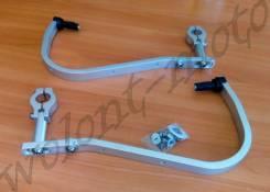 Защита рук/ручек на тонкий руль 22,2 Серебристый Accel (Taiwan) HG-01 Silver
