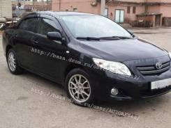 Дефлекторы окон (ветровики) Toyota Corolla 07-13