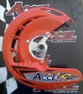 Защита переднего диска в сборе Acce Honda CR 125/250 04-07 CRF 250/450/250X/450X 04-14 Красный