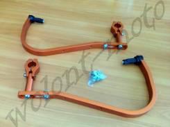 Защита рук/ручек на толстый руль 28,6 Оранжевый Accel (Taiwan) HG-02 Orange