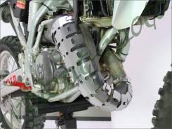 Защита колена глушителя DRC 2Cycle D31-01-130 DRC Universal Ex-Pipe Guard
