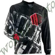 Джерси THOR S4 STATIC BOXED размер:М Черно-бело-красный 2910-3064
