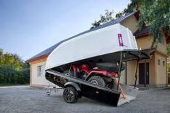 Легковой прицеп Сталкер Touring Optim, 3.54х1.64м, подвеска торсионная