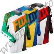 Джерси Fox 180 Vandal Jersey размер: М Зелено оранжевый 10784-147-M