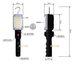Фонарь Solarzen 24 диода, аккумуляторный, светодиодный