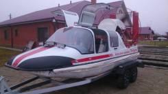 Аэролодку Патруль 2014 года +мотор toyota, 4л, 265 л/с + прицеп