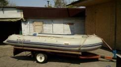 Продам лодку с телегой