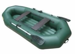 """Надувная лодка ПВХ """"Компакт-270"""" НДНД, длина 270см, под мотор 3,5л. с"""