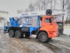 Випо-36. Автогидроподъемник ВИПО-36-01 шасси Камаз-43118 (6х6), 36,00м.