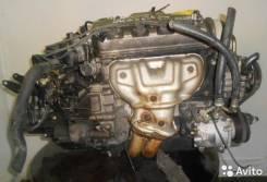 Двигатель в сборе с КПП, Honda D16A MT FF 4WD S22. Разбираются автомоб