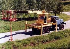 Услуги - бурильно-крановые машины; автовышка