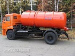 КО-529-13 на шасси КАМАЗ 43253-3010-28 вакуумная Евро-4 , 2019