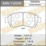 Колодки тормозные передние Masuma MS1228 Toyota