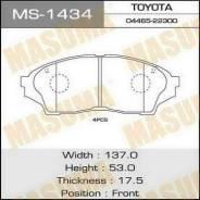 Колодки тормозные передние Masuma MS1434 Toyota