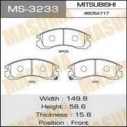 Колодки тормозные передние Masuma MS3233 MMC