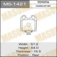 Колодки тормозные задние Masuma MS1421 Toyota/Lexus