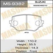 Колодки тормозные передние Masuma MS9382 Suzuki