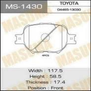 Колодки тормозные передние Masuma MS1430 Toyota Corrola Caldina Celica