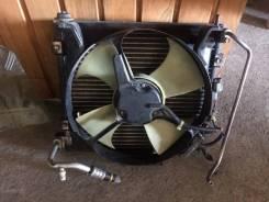 Радиатор кондиционера  с дефузором Honda Logo, GA3