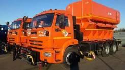 ЭД-405Б на шасси КАМАЗ 65115-773081-42 (ПС 10 + ПМ 12,5+отвал+щетка), 2019