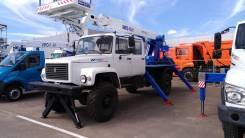 Випо-18. Автогидроподъемник ВИПО-18-01 на шасси ГАЗ-33081/33088 (4х4) (5м. каб), 7 850куб. см.