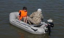 Надувная ПВХ лодка Badger Lake Line 265