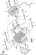 Прокладка клапанной крышки 4GY-11193-00-00 на Yamaha TTR250