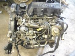 Двигатель в сборе. Toyota Sprinter, CE110 Двигатели: 2C, 2CIII