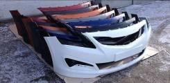 Бампер передний Hyundai Solaris (в цвет кузова) [рестайлинг 2014-2016]
