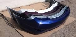 Бампер задний Hyundai Solaris (в наличии все цвета) [седан](2011-2014)