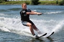 Катание за Катером на водных лыжах