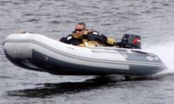 Лодка ПВХ Badger FLA360AD с надувным дном высокого давления 3,6 м.